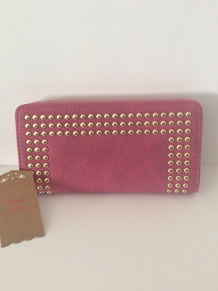 Pink Studded Purse