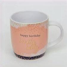 Happy Birthday Lovely Lady Mug