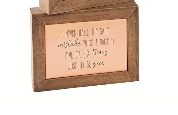 Mistake Quote Block