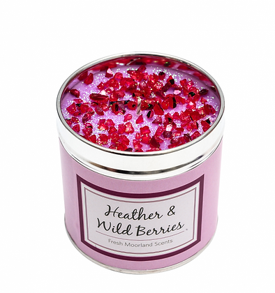Heather & Wild Berries Candle