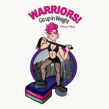 Warriors Graphic