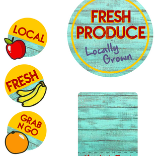 Fresh Produce Merch Kit