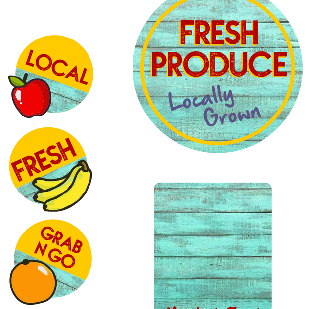 Fresh Produce Merch Kit