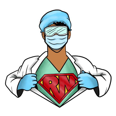 RN Super Hero Nurse