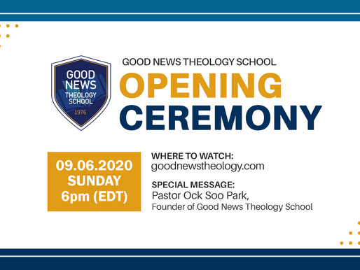 Good News Theology School - Opening Ceremony
