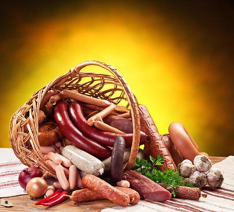 Panier viande fraîche sur commande