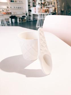 Ice Cream Bowl/ Spoon