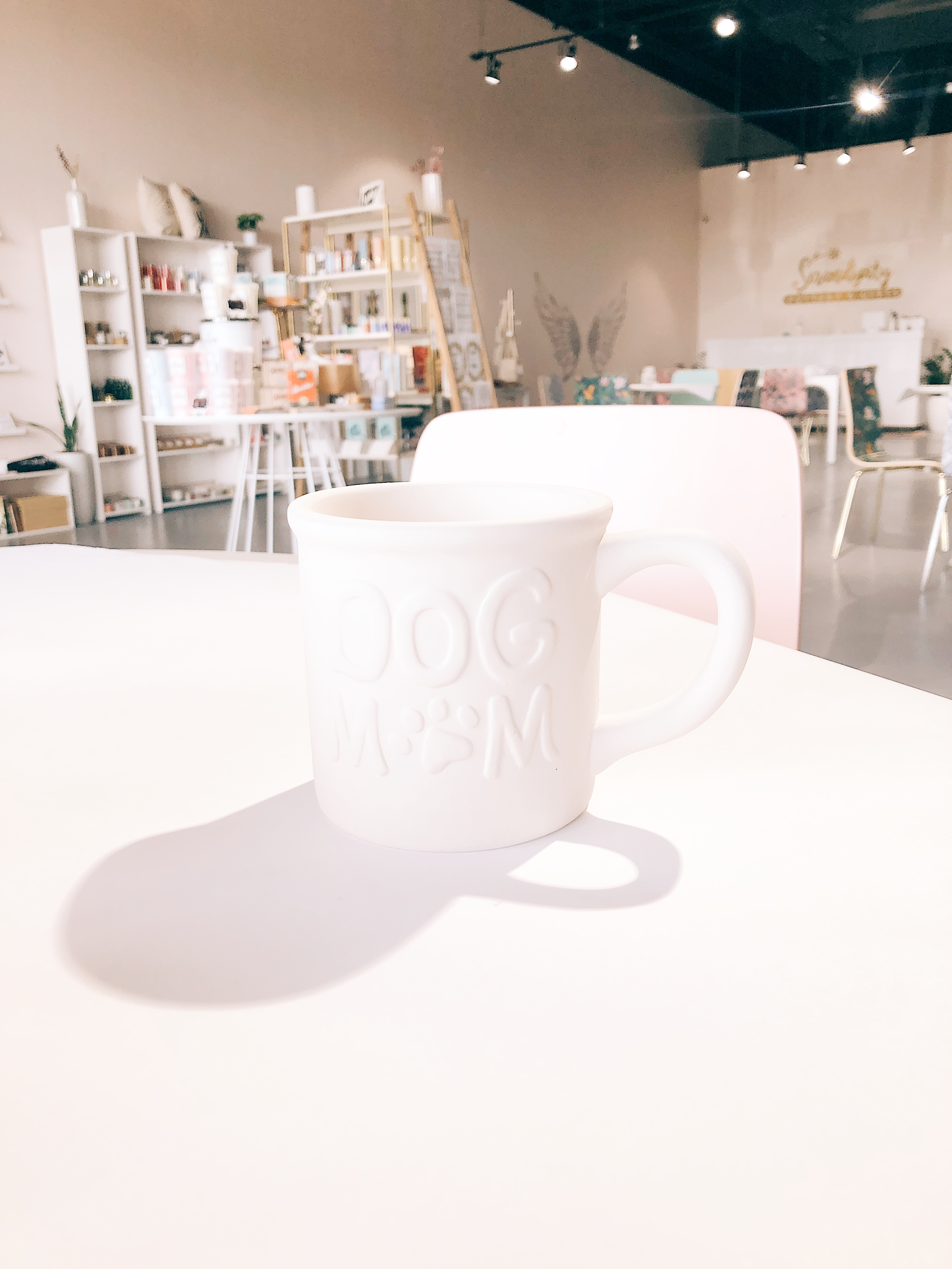 Dog Mom Tin Mug