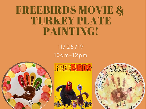 Parent's Night Out Turkey Plate Painting! | 11/7/20 |6pm-9pm
