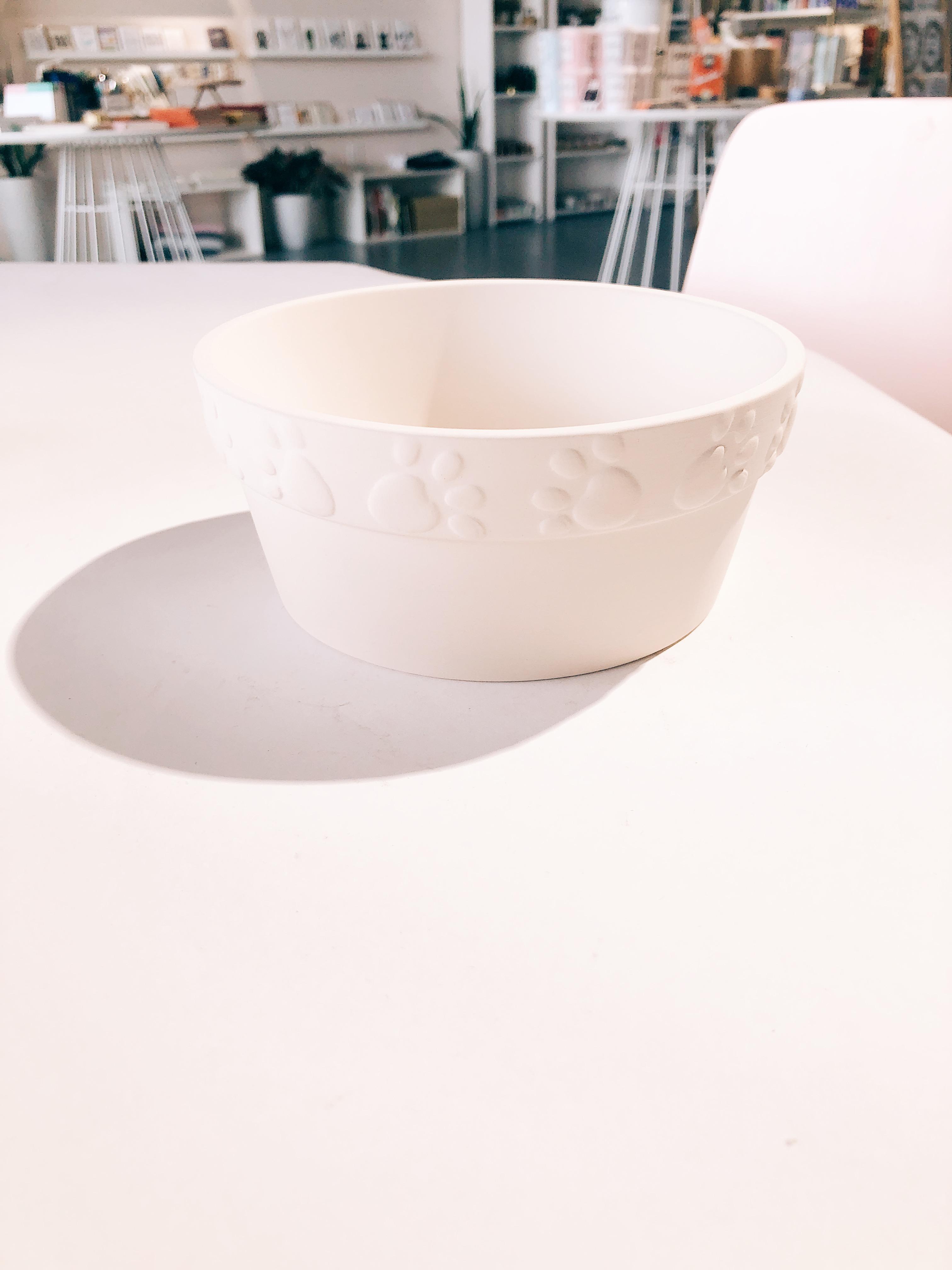 Paw Print Puppy Bowl