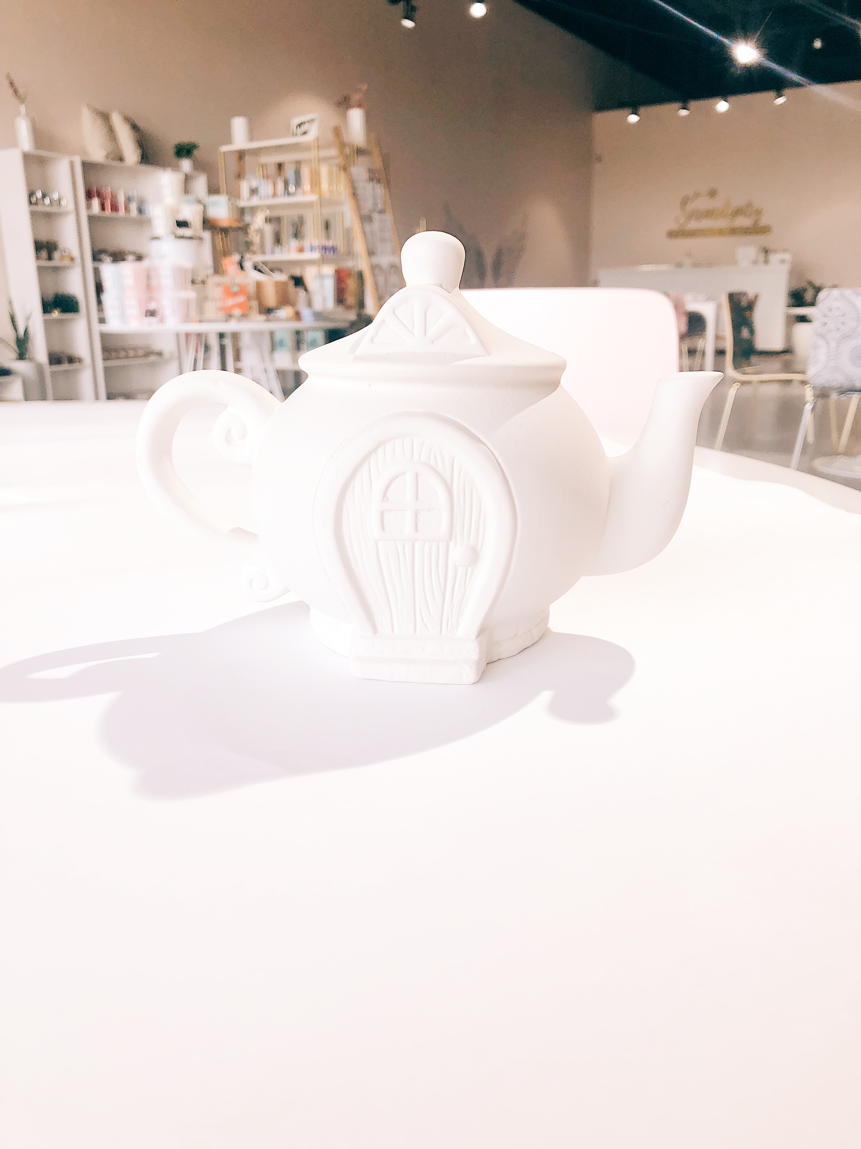 Fairy House Teapot