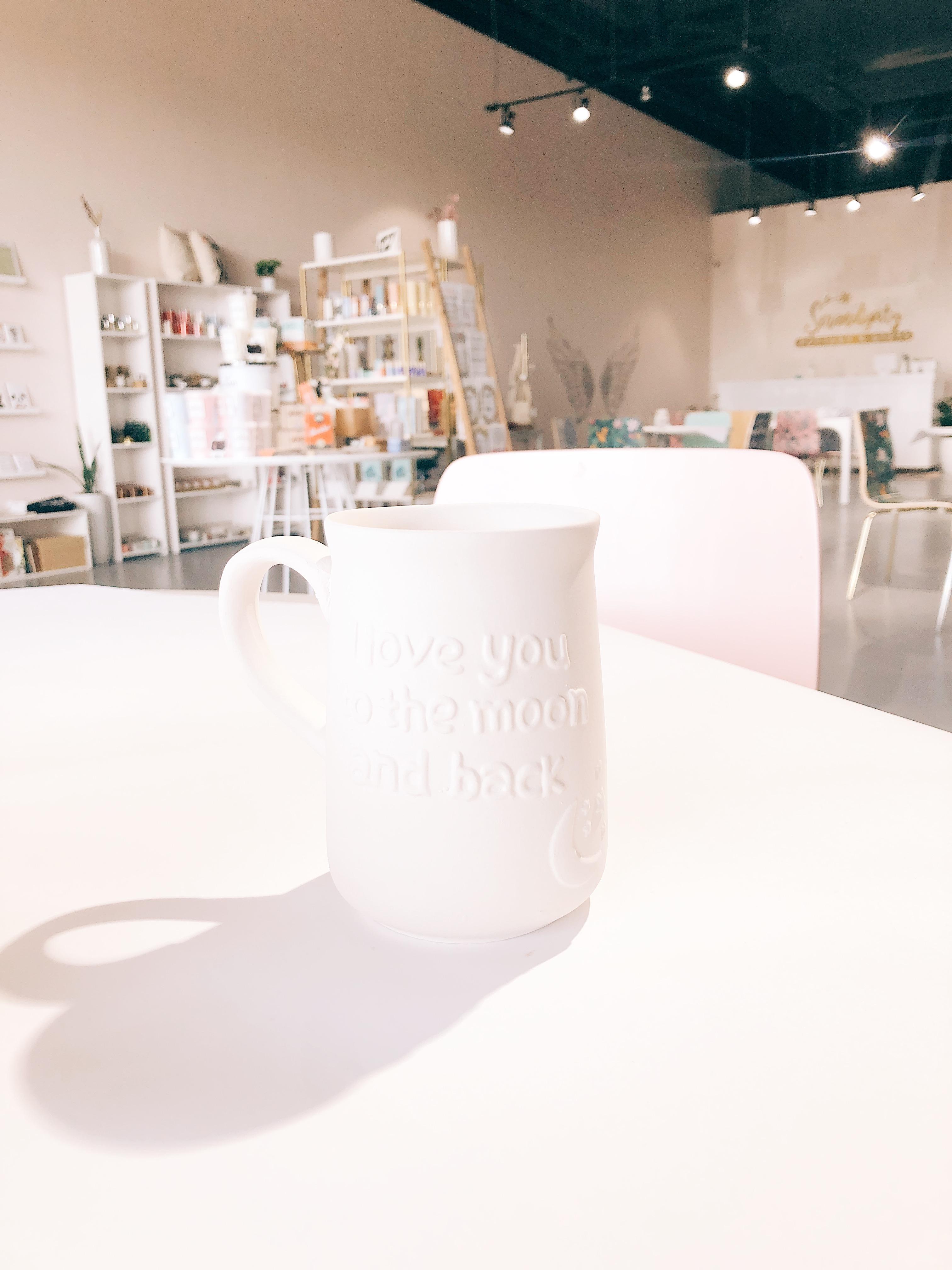 Moon and Back Mug