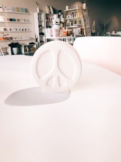 Peace Sign Bank