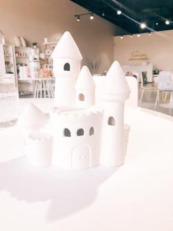 Lighted Magic Castle