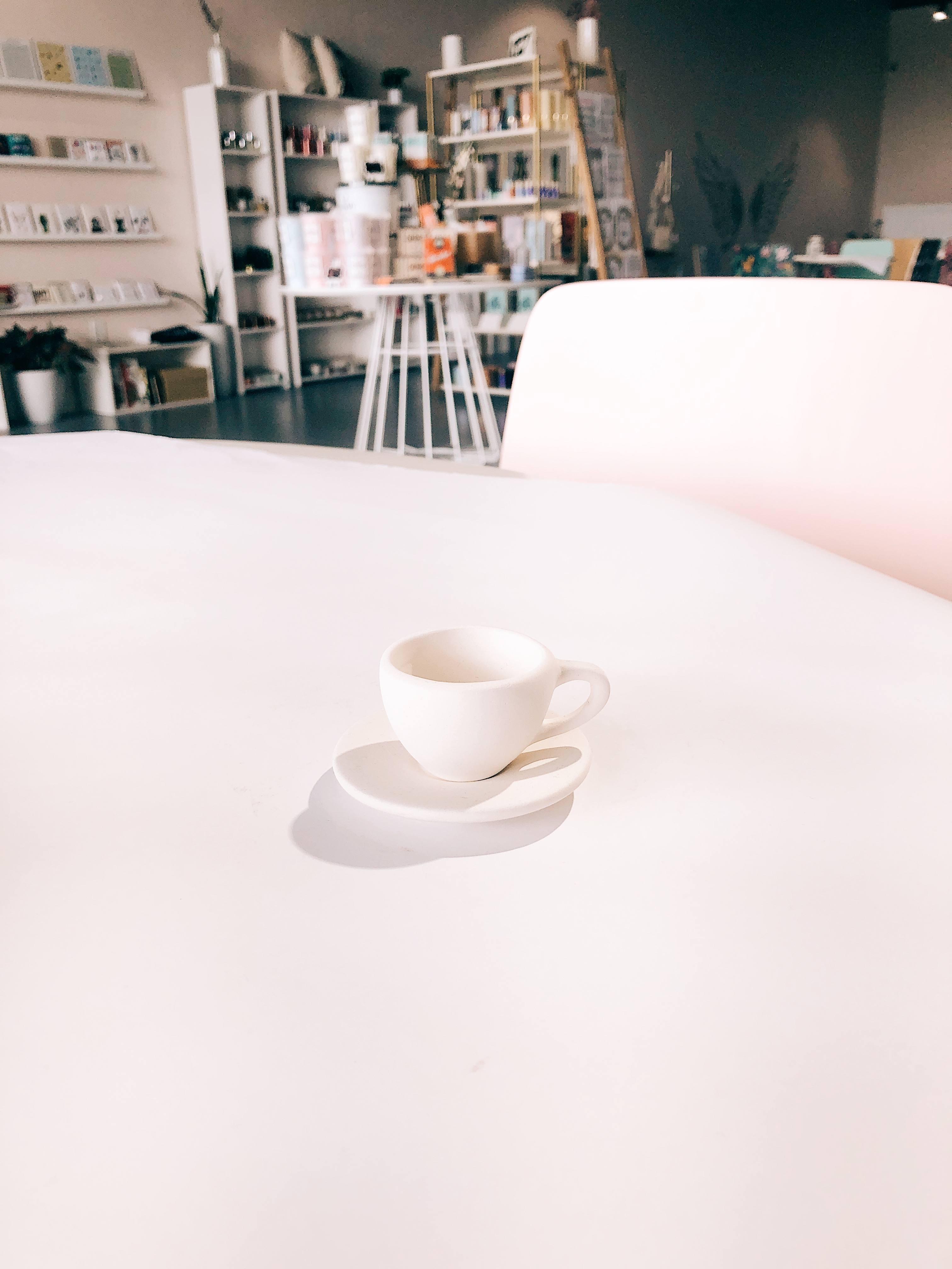 Tiny Tea cup and Saucer Tot