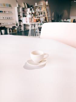 Tiny Tea cup and Saucer Tot
