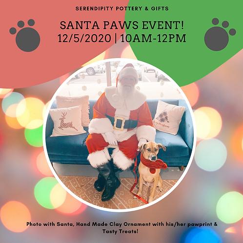 Santa Paws Event  12/5/20 10am-12pm