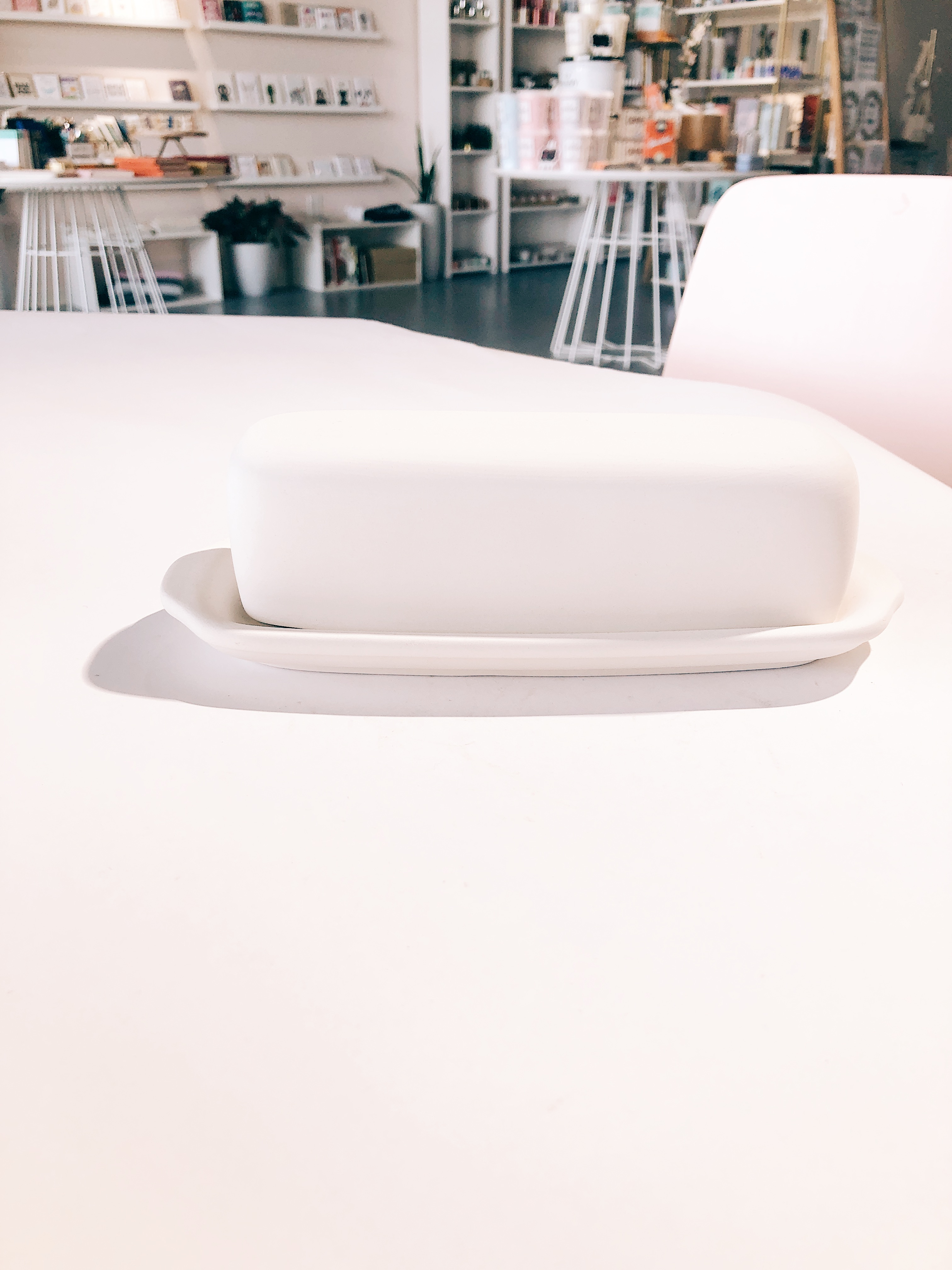 Single Butter Dish