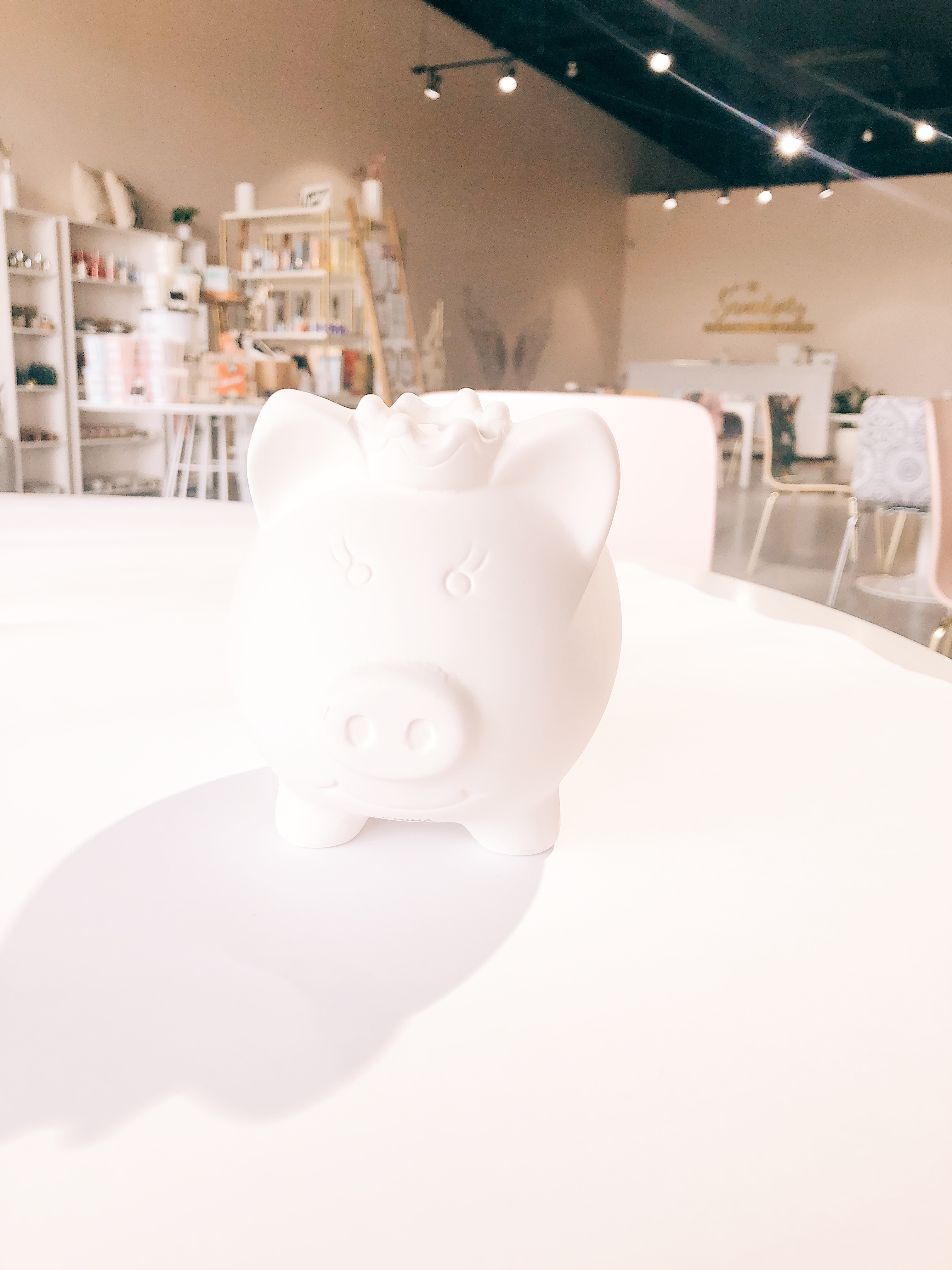 Princess Pig Bank