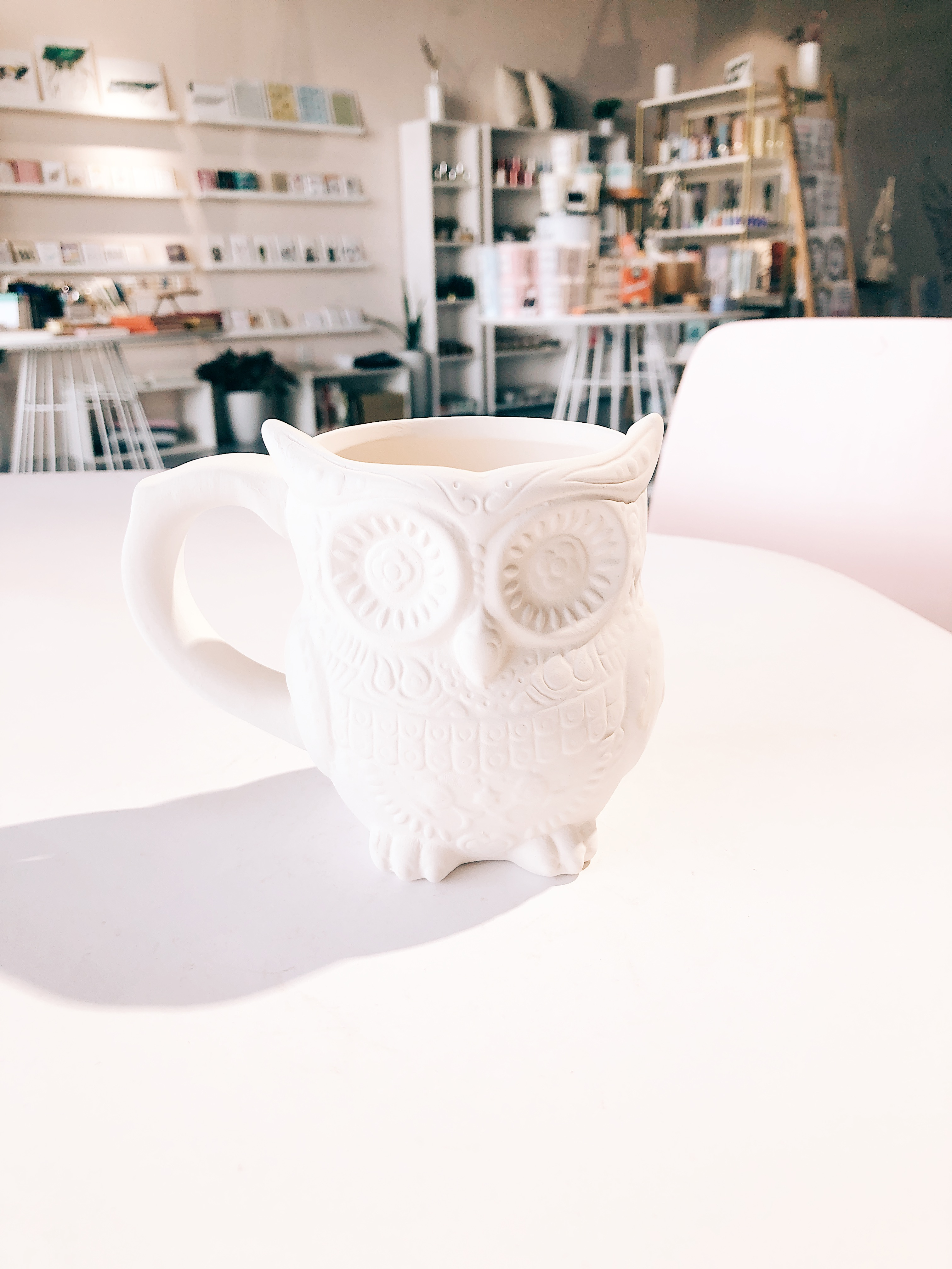 Day of the Dead Owl Mug
