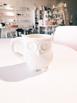 Day of the Dead Owl Mug