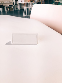 Triangle Name Plate
