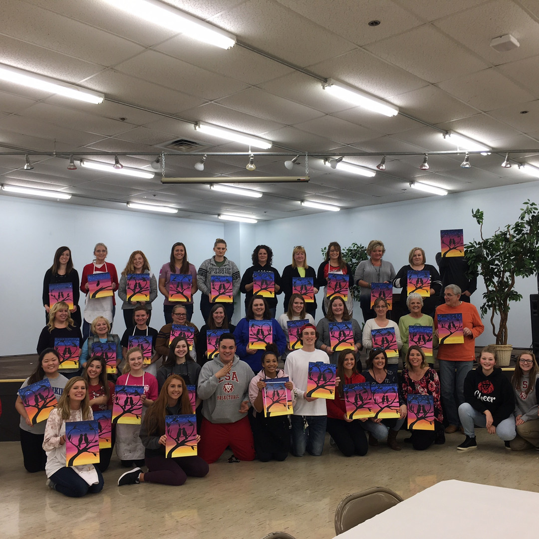 LSA cheerleaders fundraiser