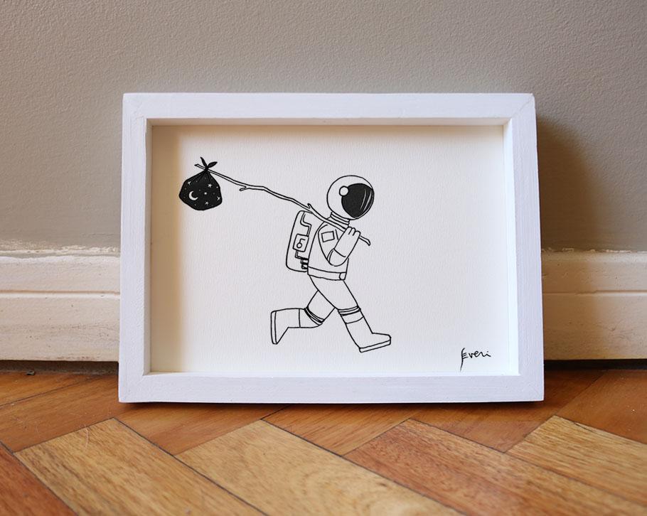 Astronauta vagabundo_Box