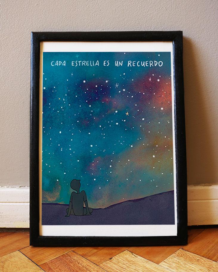 Cada Estrella recuerdo_Cuadro