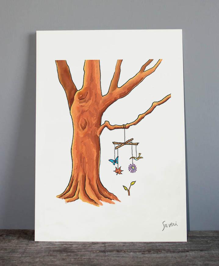 Móvil árbol_Lamina