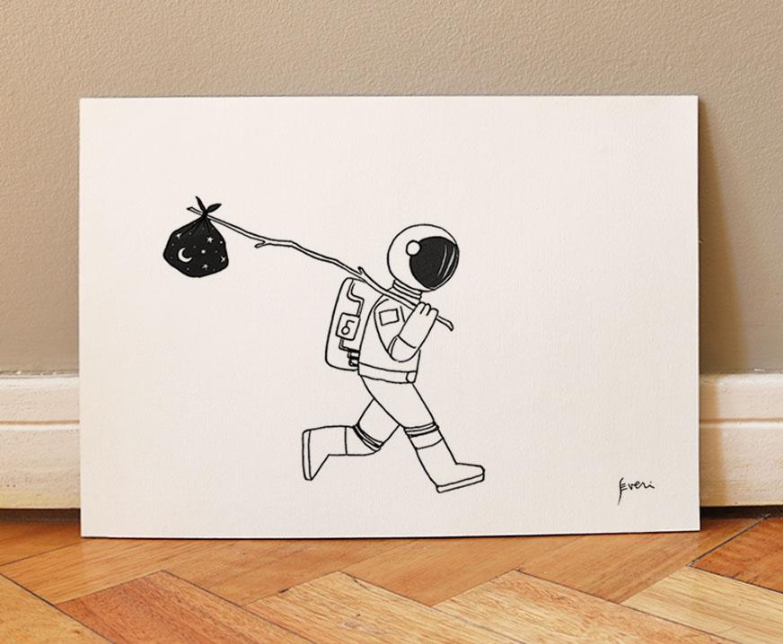 Astronauta vagabundo_Lamina