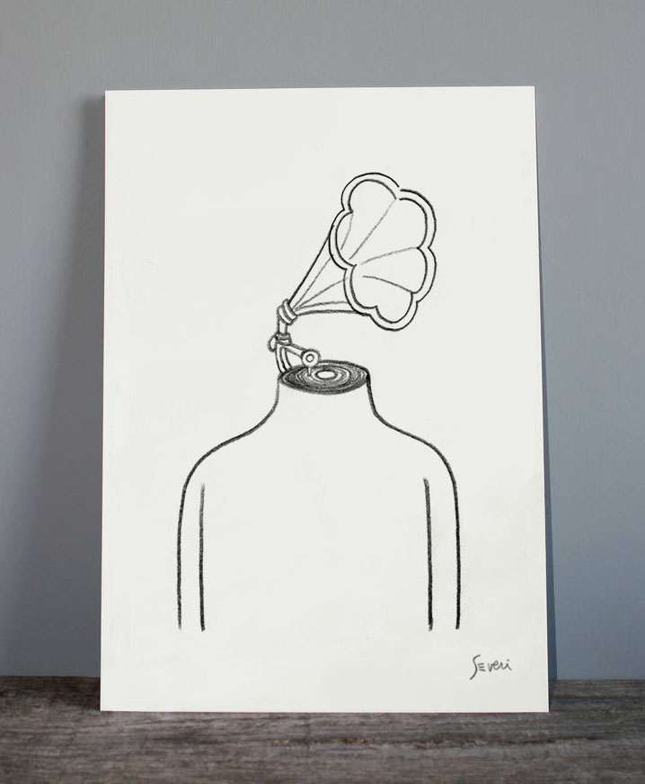 cabeza de vitrola _Lamina