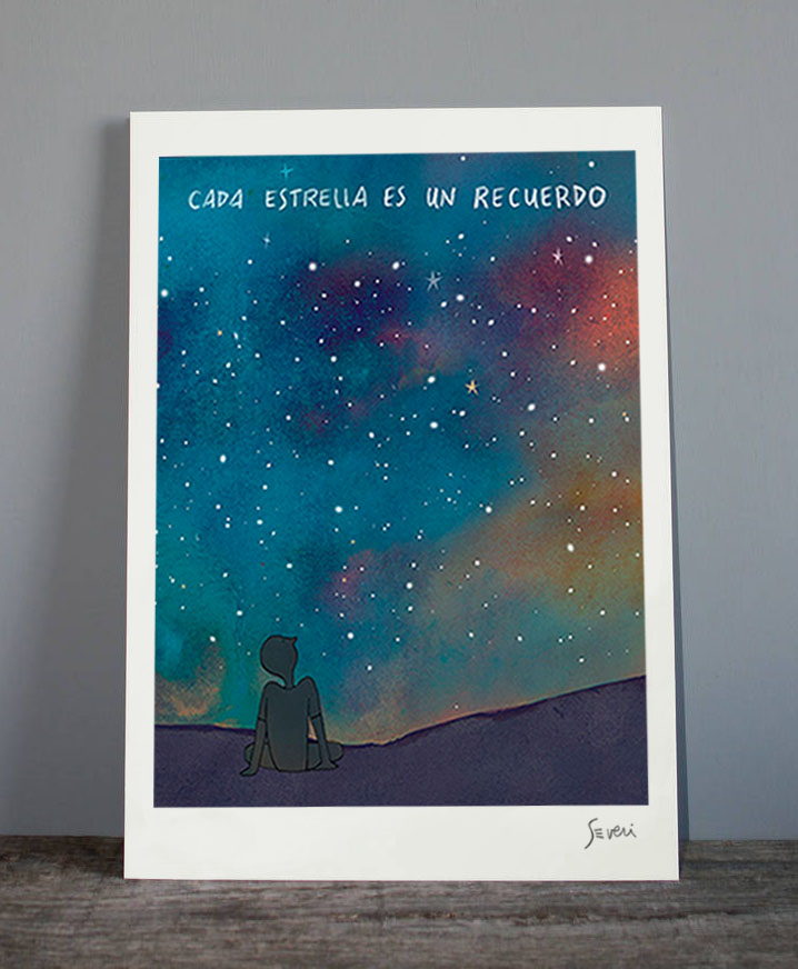 Cada estrella recuerdo_Lamina