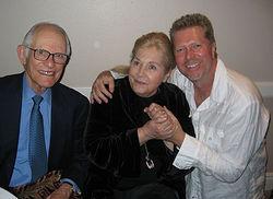 Alan & Marilyn Bergman w/JR