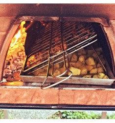 Set BBQ inclinada