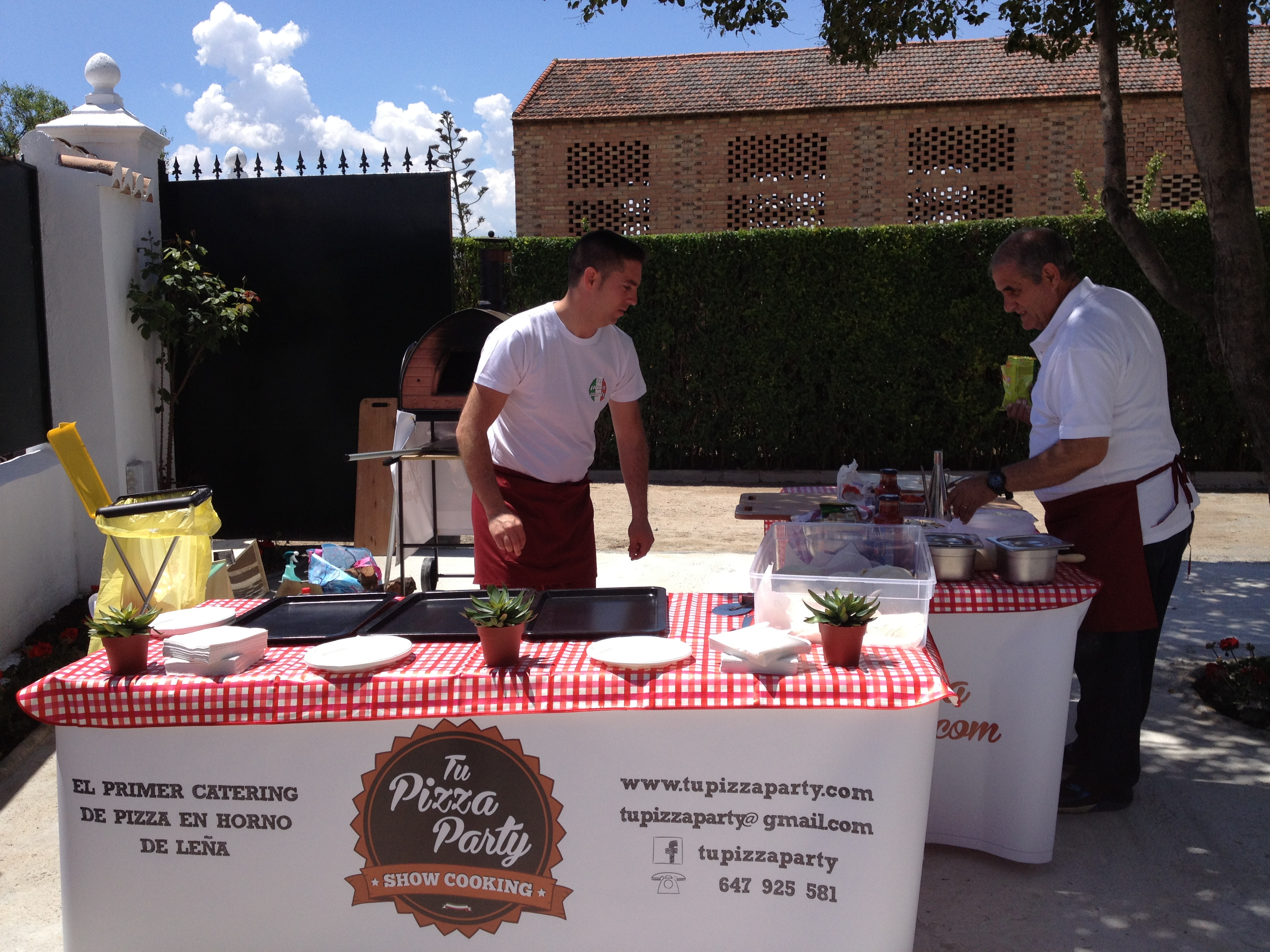 Catering de pizza en Andalucía