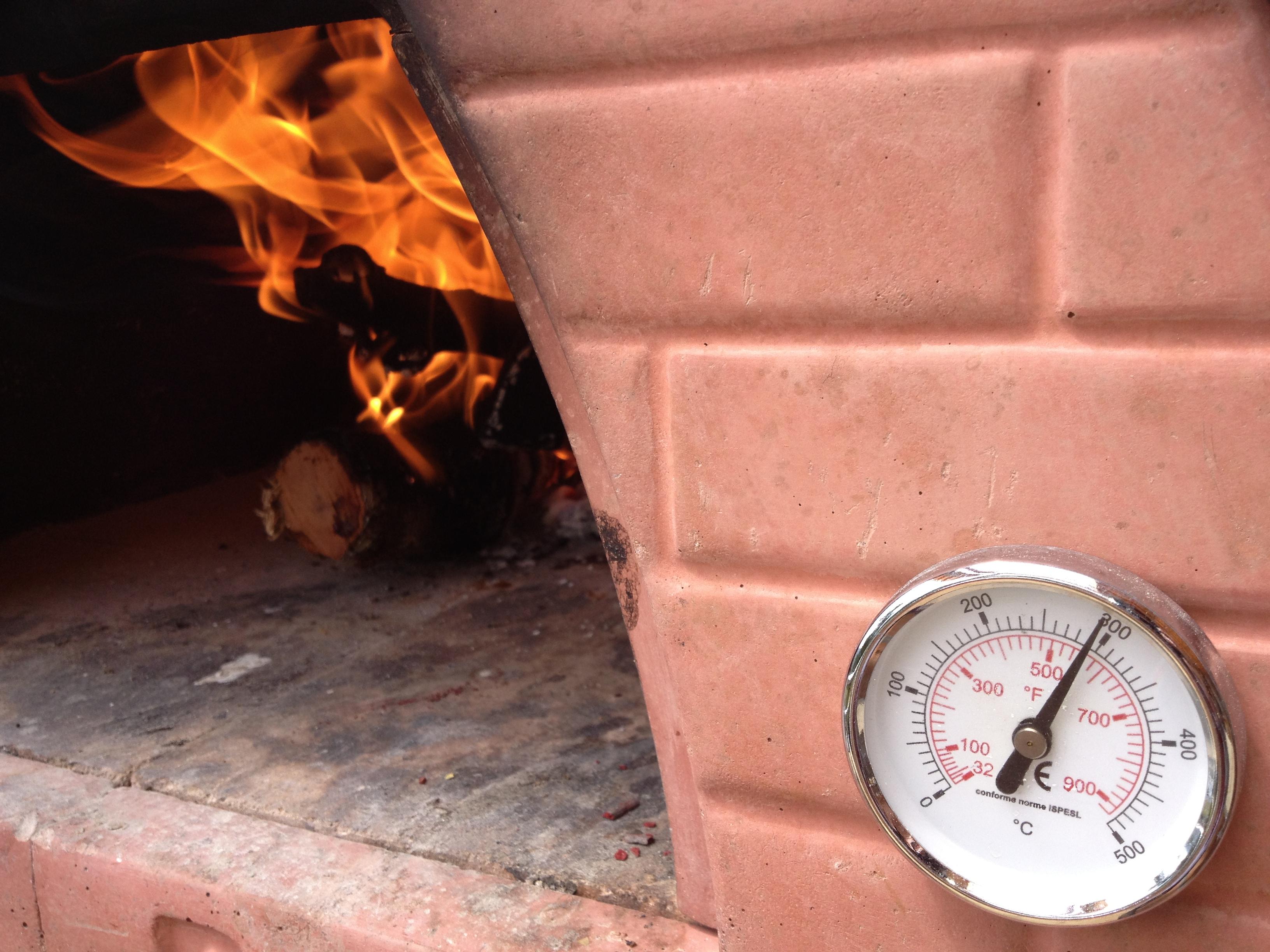 Termómetro del horno