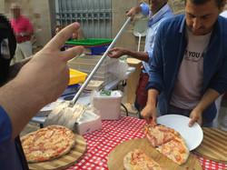 Pizzas artesanas al momento