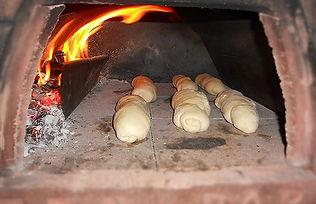 Horno de leña portátil pizza party para pan