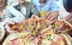 Fiesta pizza divertida