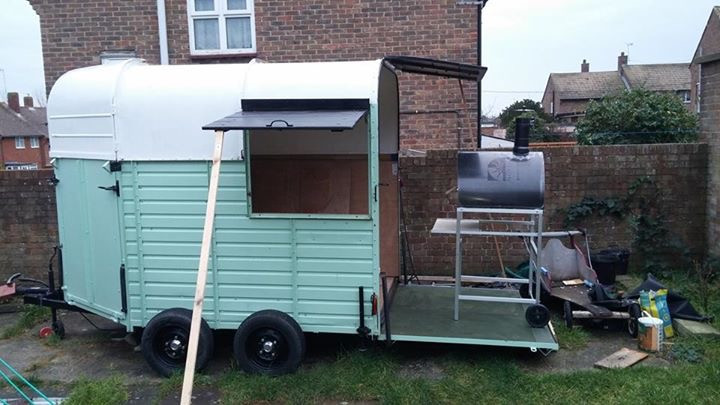 Remolque Food Truck Pizza Party en el Reino Unido