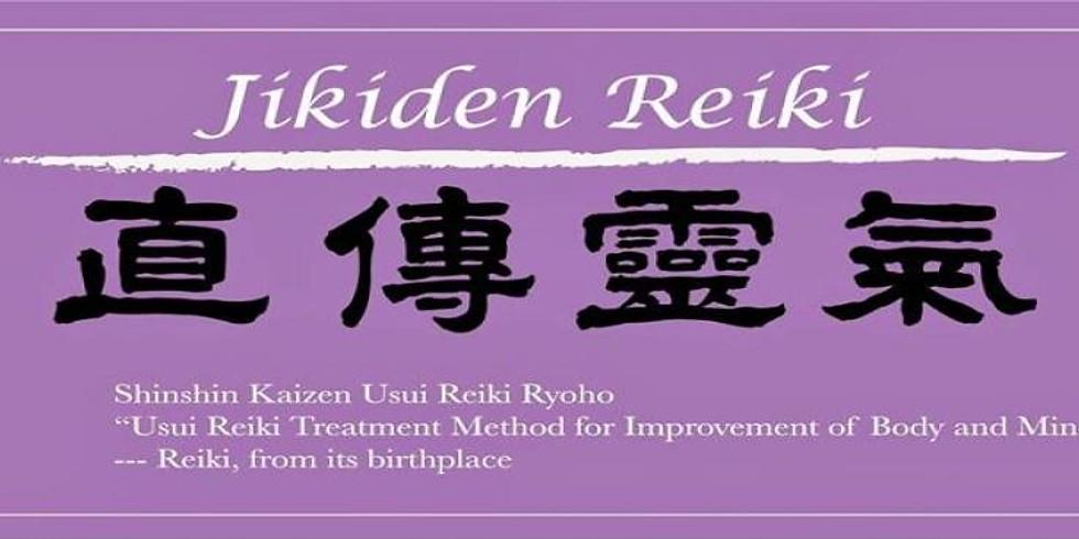 Jikiden Reiki Shoden (level1) March 30,31  2019