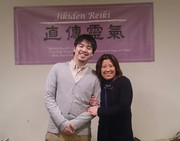 Sue with Mr. Yohei Yamaguchi