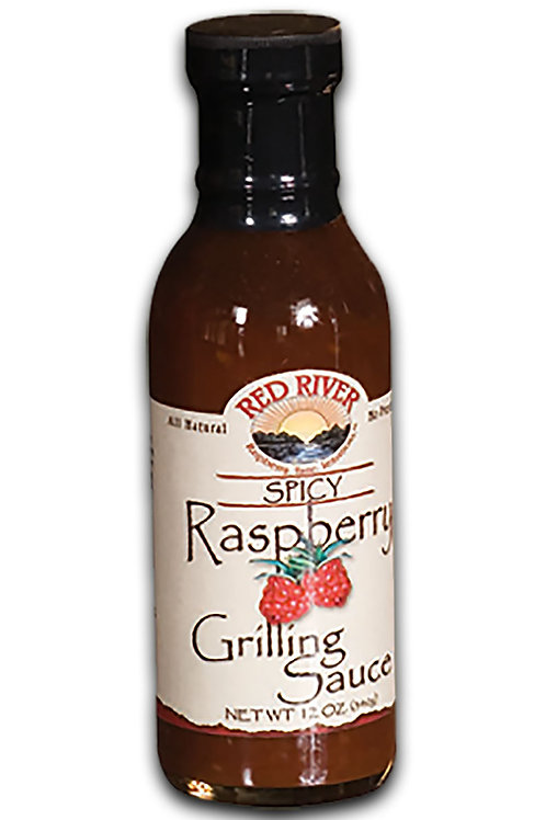 Spicy Raspberry Grilling Sauce