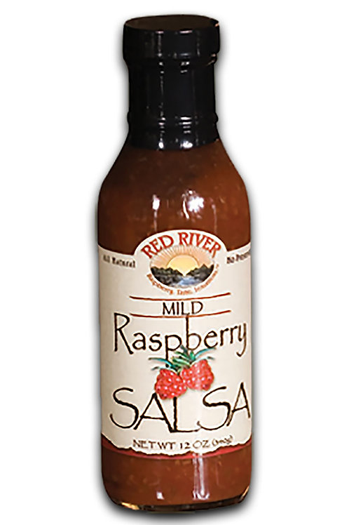 Mild Raspberry Salsa