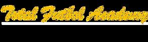 Total Futbol Academy script logo.png