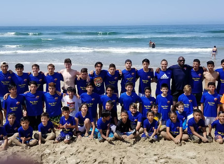 Beach Training - Club Event