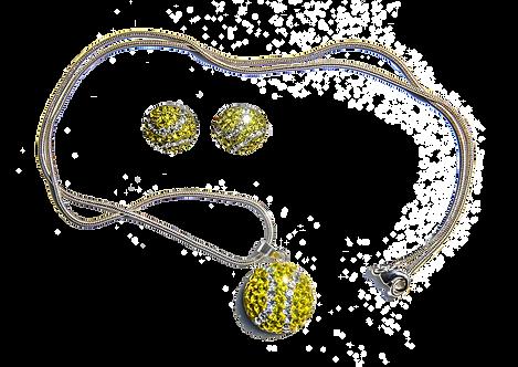Tennis Necklace & Earrings