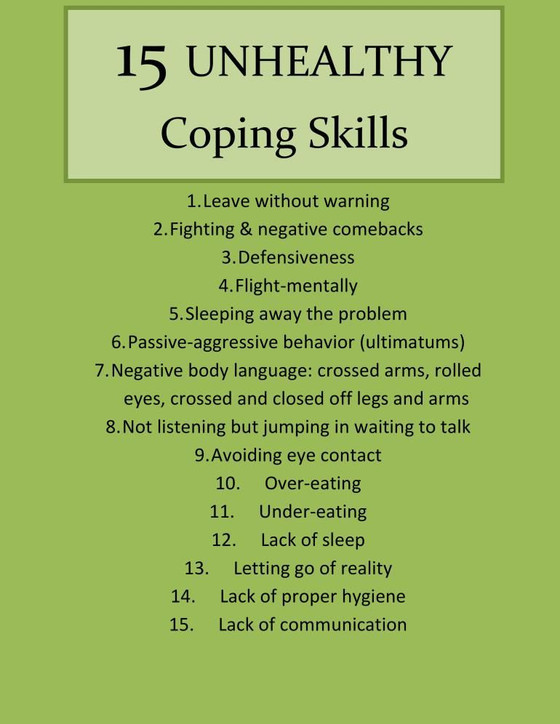 How do you cope with life?