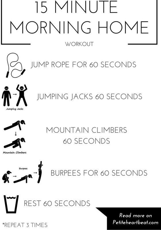 15 Minute Home Workout